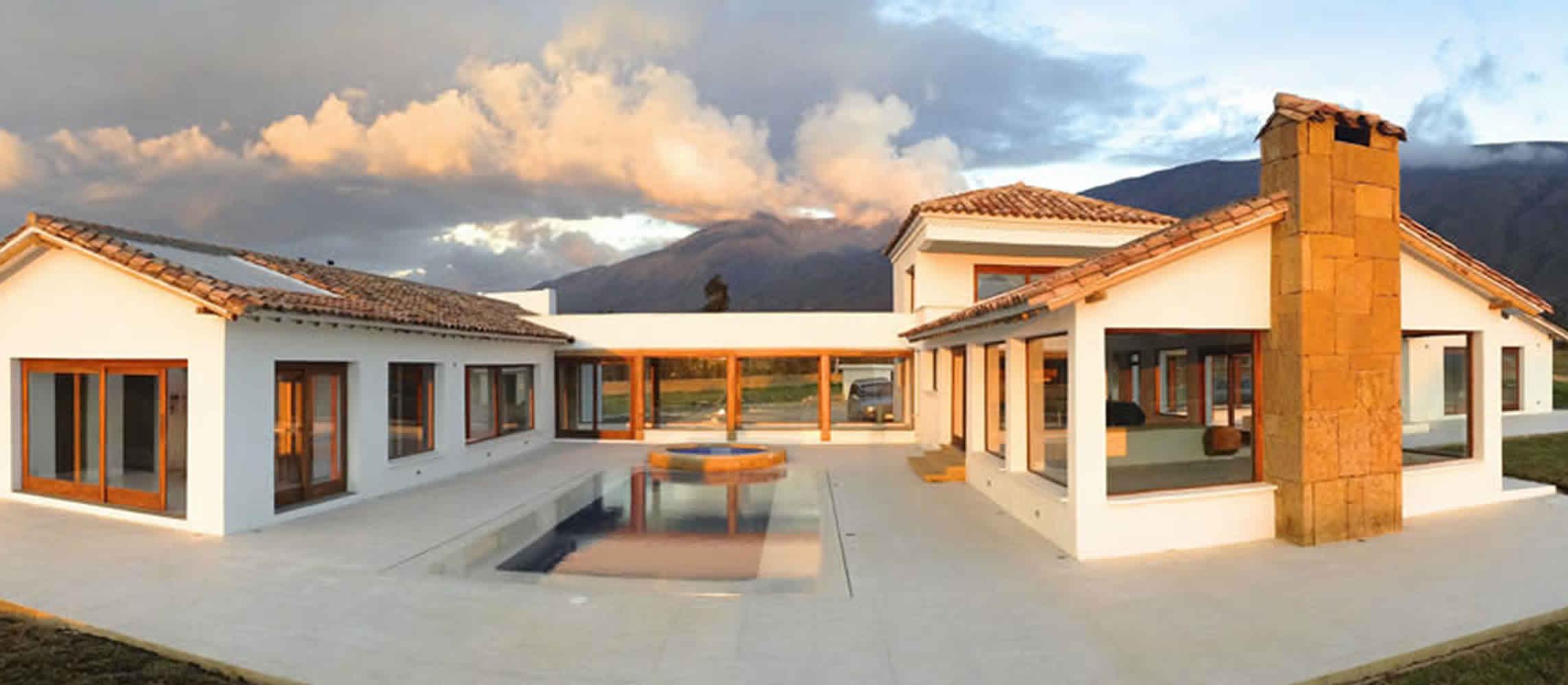 Casa Hipodromo en Villa de Leyva - Arquitecto Pedro Carvajal