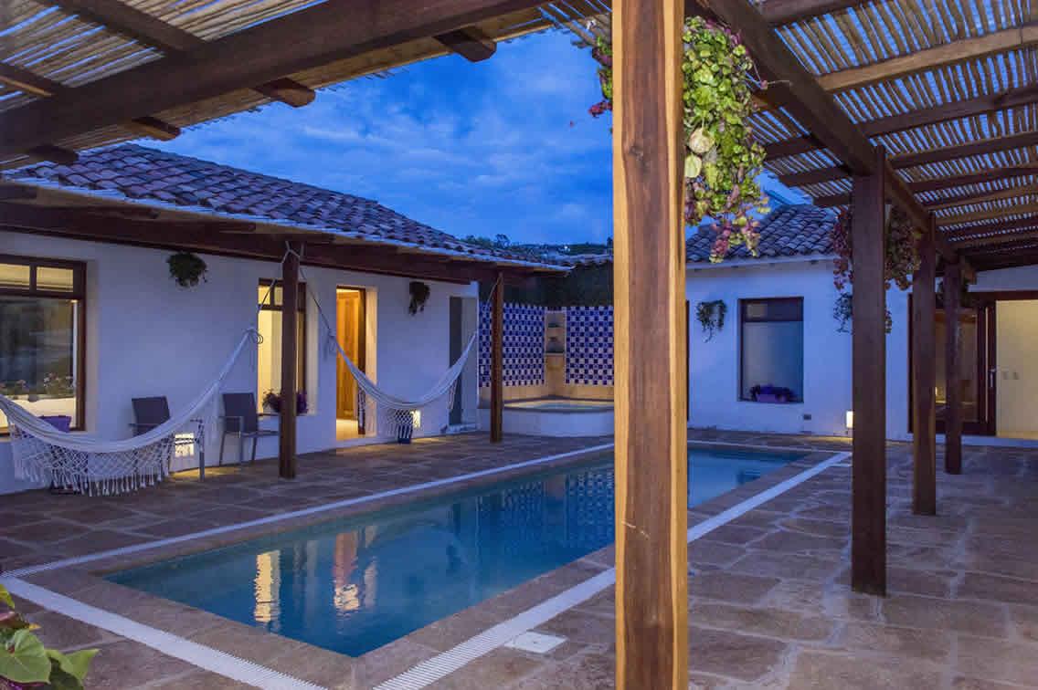 Casa Jardín de ángeles - arquitecto en Villa de Leyva